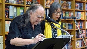 "Jack Foley and Clara Hsu Reading ""New Year"""